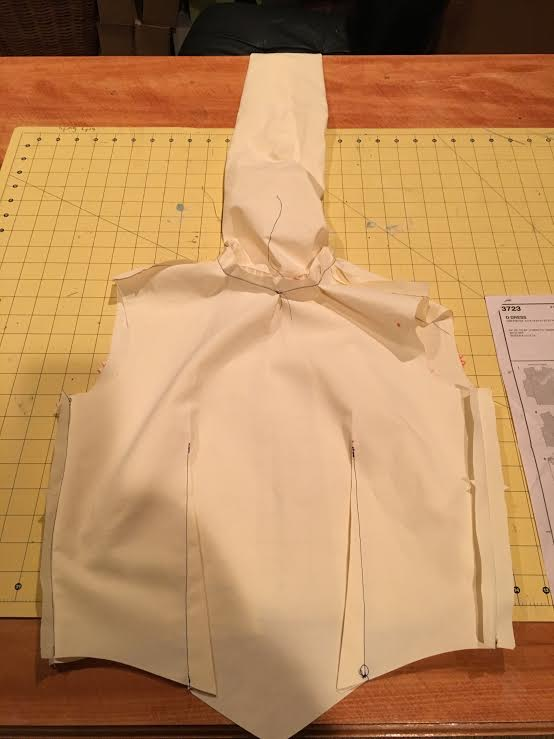 muslin; sewing fail