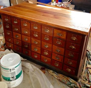 antique apothecary after
