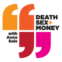 death sex and money icon; podcasts article
