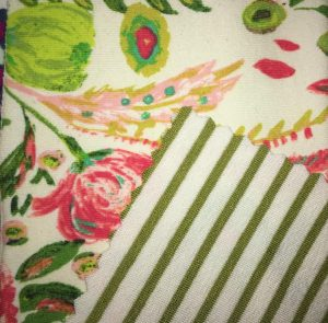 Fabric Swatches for Clothing Line