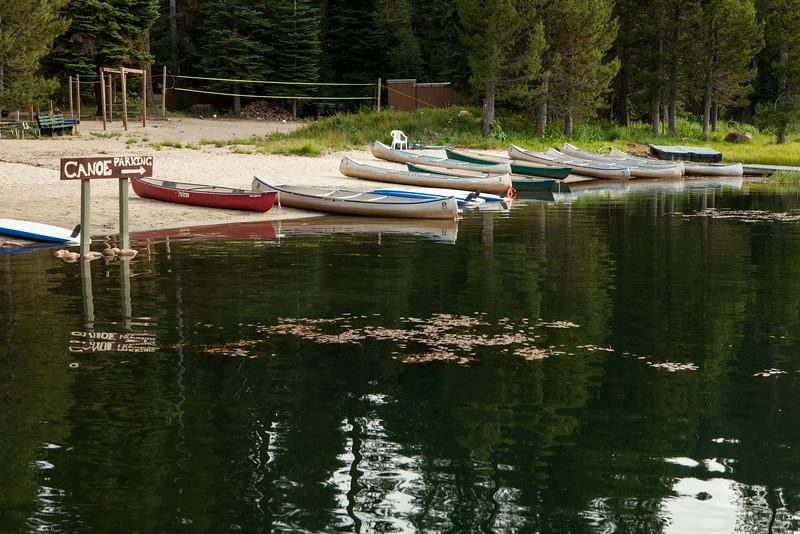 Lake Homavolo at Montecito Sequoia Family Camp