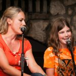 Singing at Family Camp