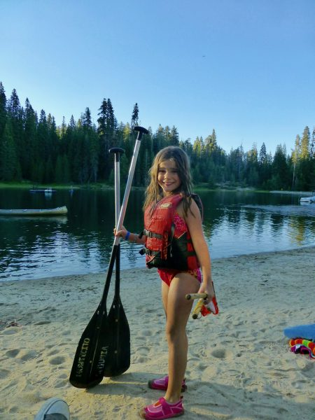 Canoeing at Family Camp