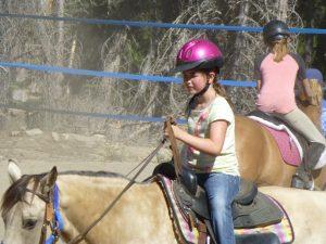Horseback Riding at Family Camp