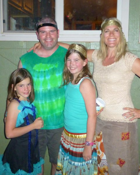 Seventies Night at Family Camp
