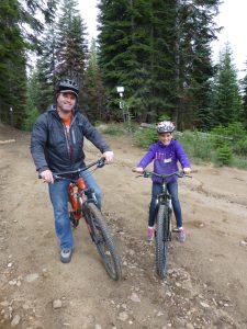 Mountain Biking at Family Camp