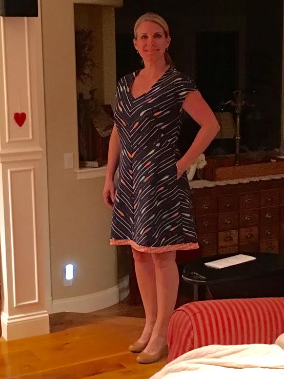 My First dress; sewing successes and fails