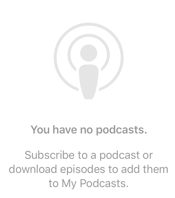 need to search podcasts