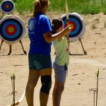 Archery at Family Camp