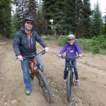 Mountain Biking at Family Camp