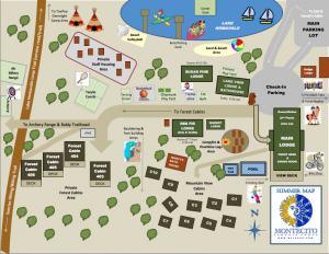 Family camp map