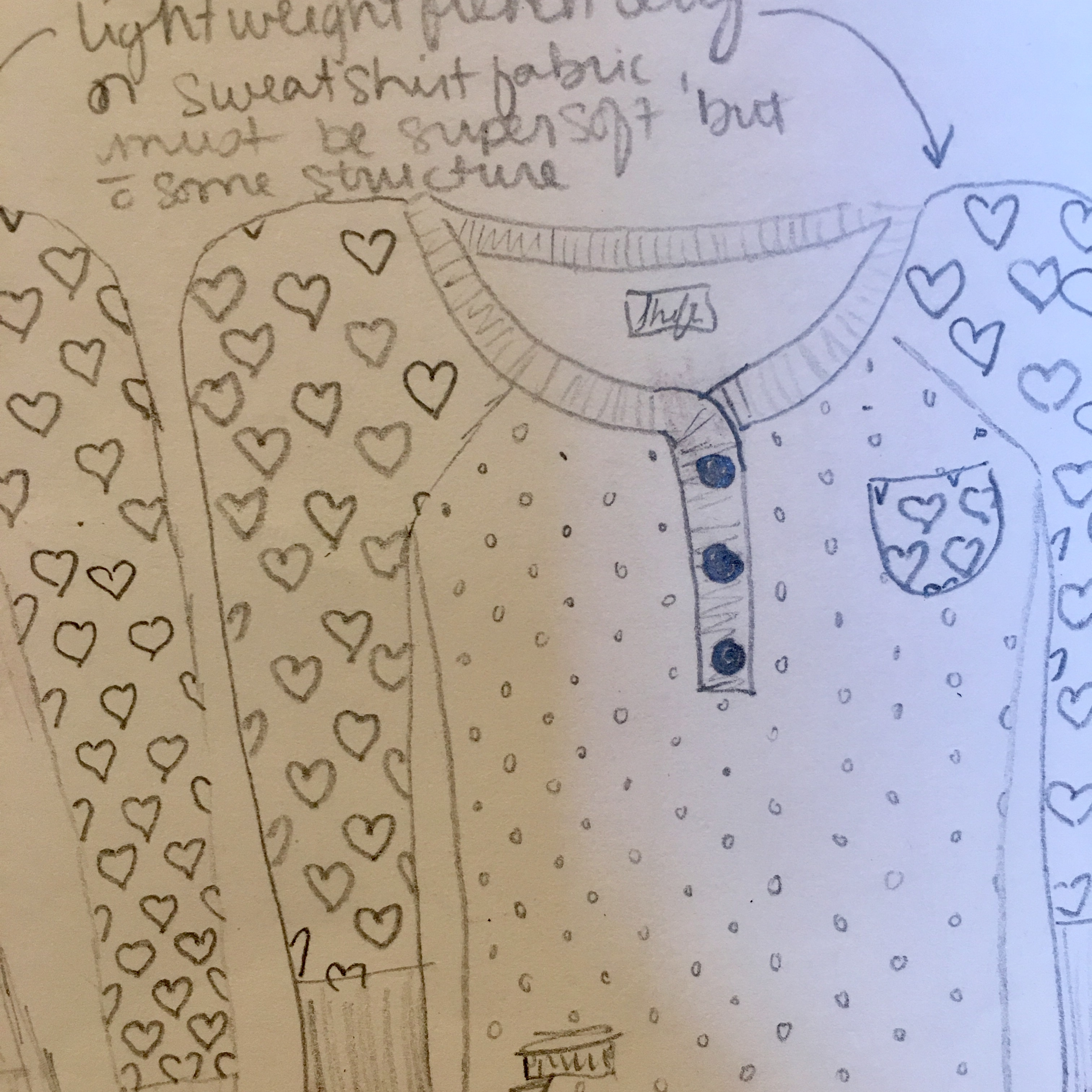 First Sketch of Clothing Line Idea