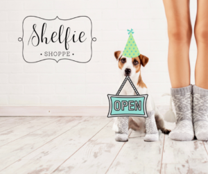 Shelfie Shoppe is open