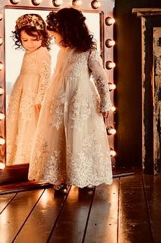 dress in mirror